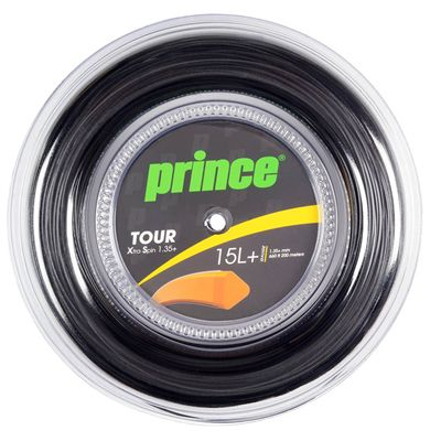 Prince Tour Xtra Spin Tennis String - 200m Reel - 1.35 Black