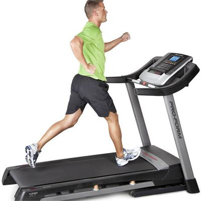 ProForm 1350 ZLT Treadmill In Use