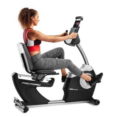 ProForm 325 CSX Recumbent Exercise Bike - In Use1