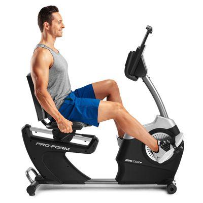 ProForm 325 CSX Recumbent Exercise Bike - In Use2