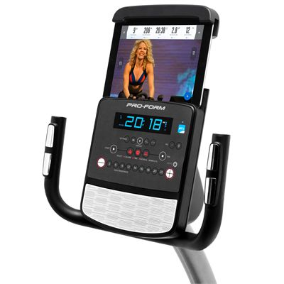 ProForm 325 CSX Recumbent Exercise Bike - Tablet