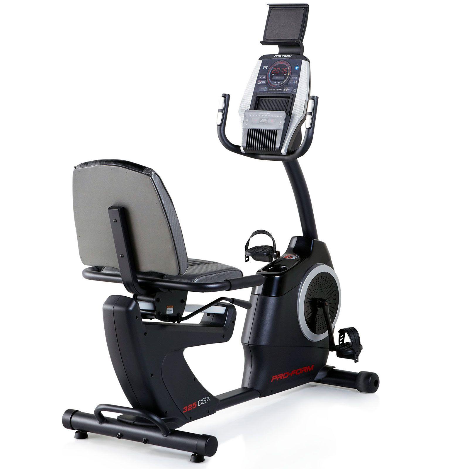 Proform 325 Csx Recumbent Exercise Bike