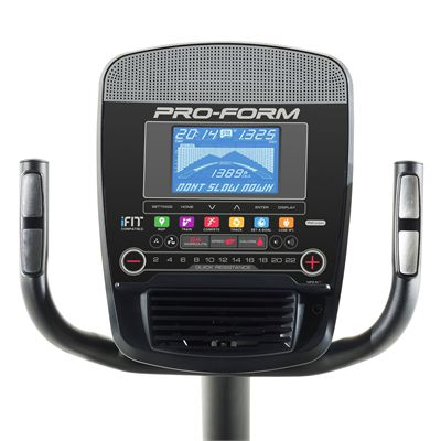ProForm 350 CSX Recumbent Exercise Bike - Console