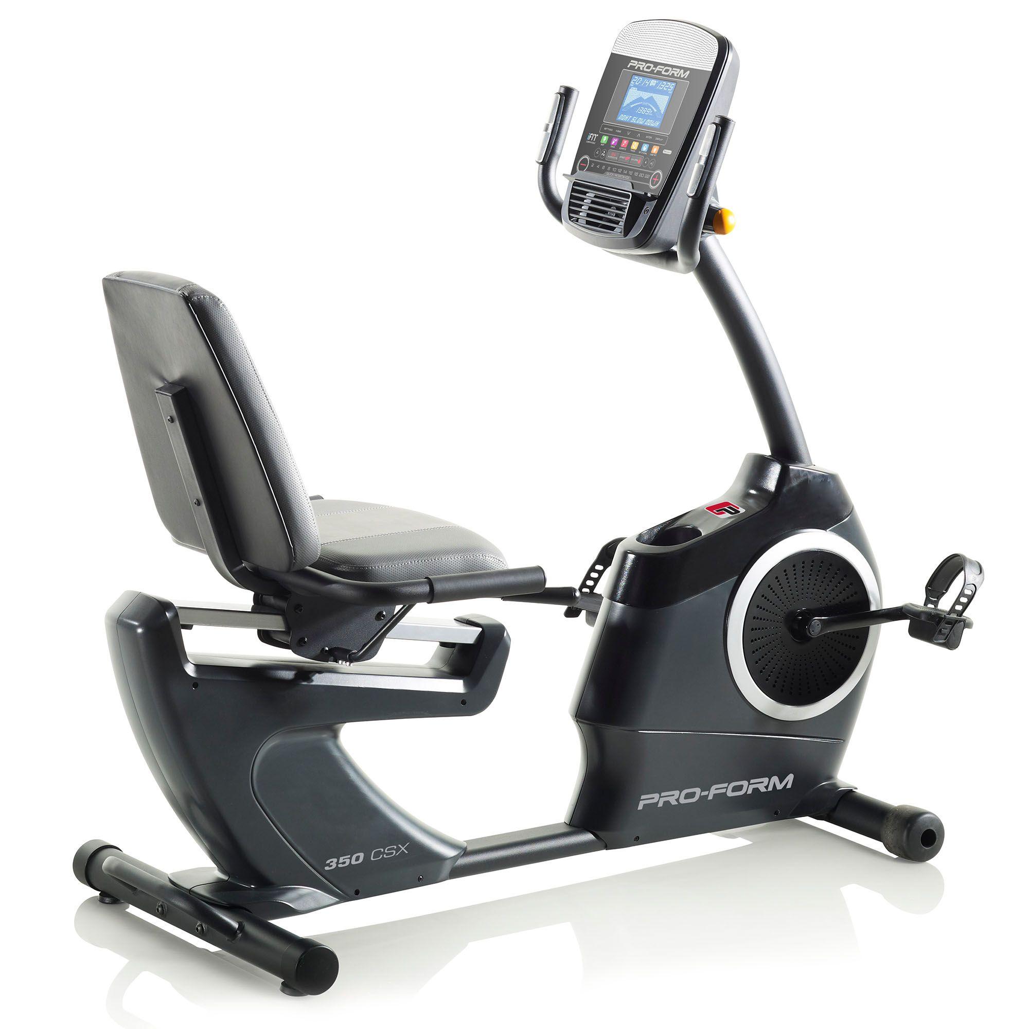 ProForm 350 CSX Recumbent Exercise Bike