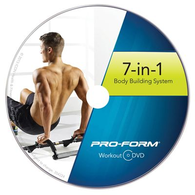 ProForm 7-in-1 Body Building System -  Dvd