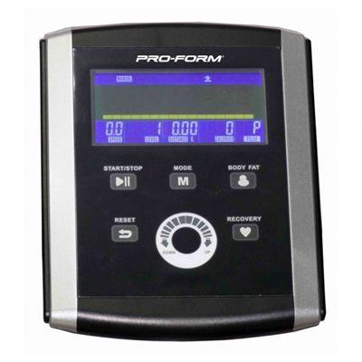 ProForm 700 Folding Elliptical Cross Trainer console