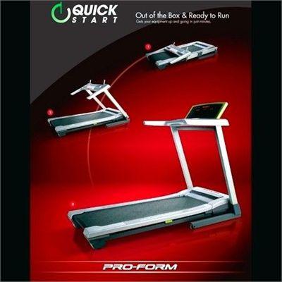 ProForm QuickStart 7.0 Folding Treadmill Pre Built