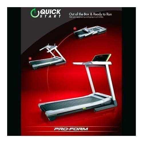 Proform Treadmill Keeps Stopping: ProForm 9.0 QuickStart Folding Treadmill