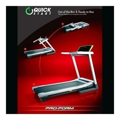 ProForm QuickStart 9.0 Folding Treadmill Quick Assembly