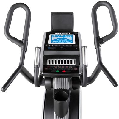 ProForm Cardio HIIT Elliptical Cross Trainer-Console-front
