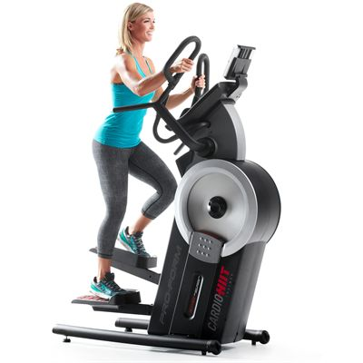 ProForm Cardio HIIT Elliptical Cross Trainer-In Use-Angled