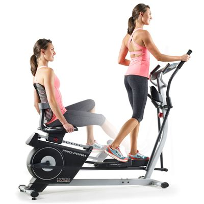 ProForm Hybrid Trainer - In Use