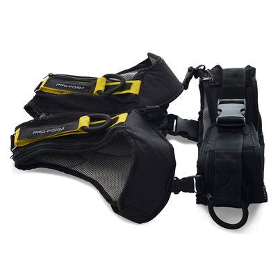 ProForm Max Adjustable Weighted Vest Set - Side View