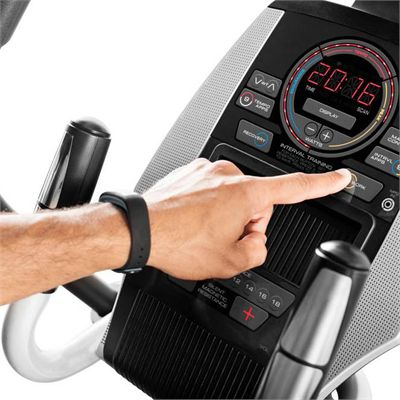 ProForm Smart Strider 495 CSE Elliptical Cross Trainer - Console in Use