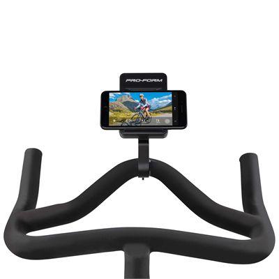 ProForm TDF CLC Indoor Cycle - Console Smartphone