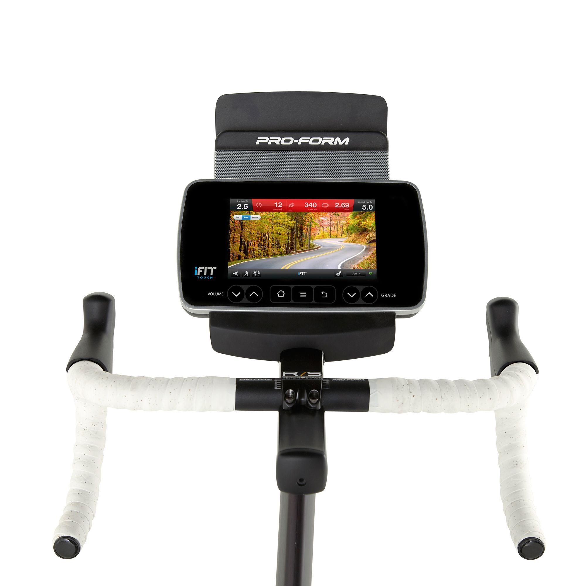 Bike Trainer En Francais: ProForm Le Tour De France Indoor Cycle