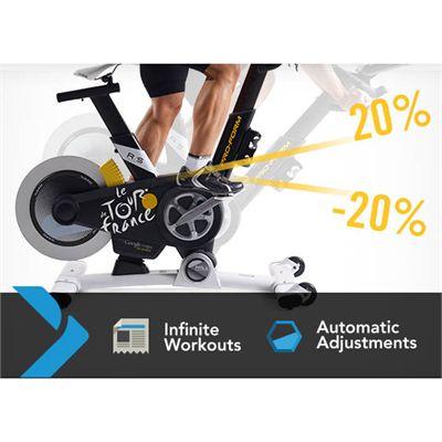 ProForm Tour de France TDF Pro 2.0 Indoor Cycle - Incline