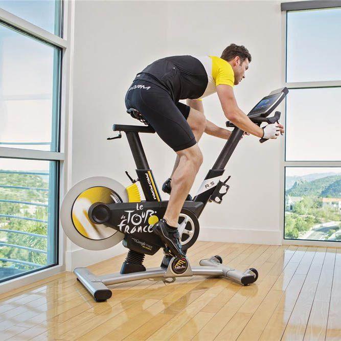 Bike Trainer En Francais: ProForm Tour De France TDF Pro 5.0 Indoor Cycle