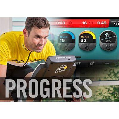 ProForm Tour de France TDF Pro 5.0 Indoor Cycle 2016 - Progress