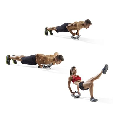 ProForm Triceps and Push Up Stand - Exercises Image