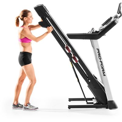 Proform Power 1295i Treadmill - Folded