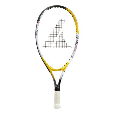 ProKennex Ace 21 Junior Tennis Racket - Yellow And White