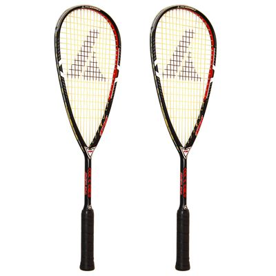 ProKennex Delta Fire Squash Racket Double Pack