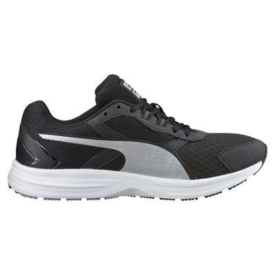 Puma Descendant V3 F5 Mens Running Shoes-Black And White - Side