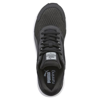 Puma Descendant V3 F5 Mens Running Shoes-Black And White - Top