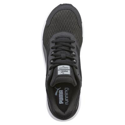 Puma Descendant V3 F5 Mens Running Shoes-Black And White - Top