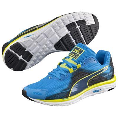 Puma Faas 500 V4 F5 Mens Running Shoes Blue-Black-Yellow - Main Image