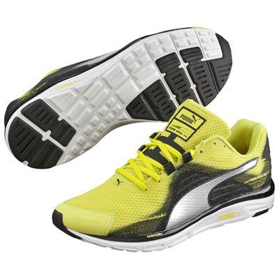 Puma Faas 500 v4 Mens Running Shoes-Green Silver-Black - Main Image