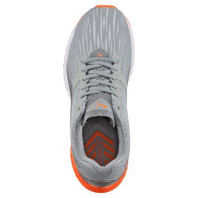 Puma Ignite Dual Ladies Nightcat Running Shoes - Grey - Above
