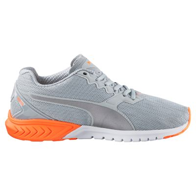 Puma Ignite Dual Ladies Nightcat Running Shoes - Grey - Side