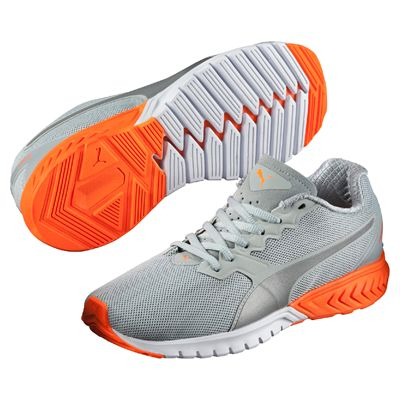 Puma Ignite Dual Ladies Nightcat Running Shoes - Grey