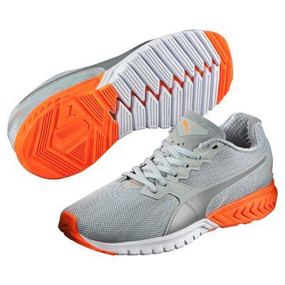Puma Ignite Dual Ladies Nightcat Running Shoes - Grey