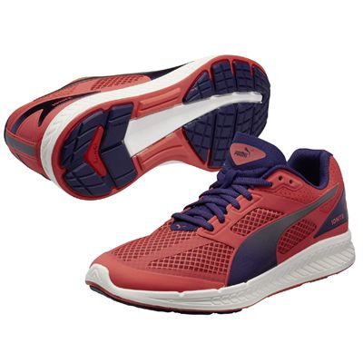 Puma Ignite Mesh Ladies Running Shoes - Violet