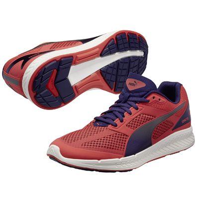 Puma Ignite Mesh Ladies Running Shoes - Violet