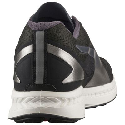 Puma Ignite Mesh Mens Running Shoes - Black/Silver - Back