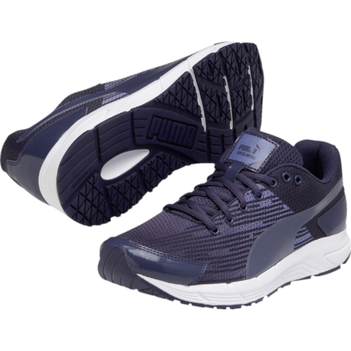 Puma Sequence Ladies Running Shoes  Blue 4 UK