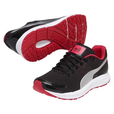Puma Sequence Ladies Running Shoes Black Pink