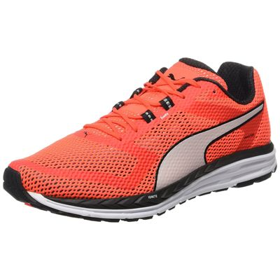 Puma Speed 500 Ignite Mens Running Shoes-Red-White-Standalone
