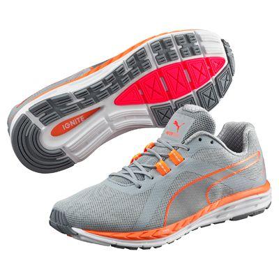 Puma Speed 500 Ignite Nightcat Ladies Running Shoes - Grey