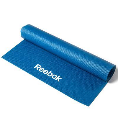 Reebok 4mm Yoga Mat-Blue Roll