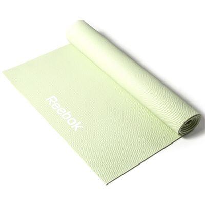 Reebok 4mm Yoga Mat-Green Roll