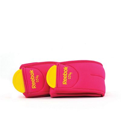 Reebok Ankle Weights 0.5kg Folded
