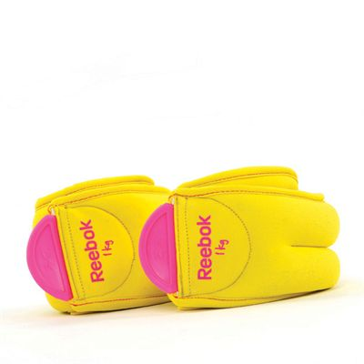 Reebok Ankle Weights 1kg folded