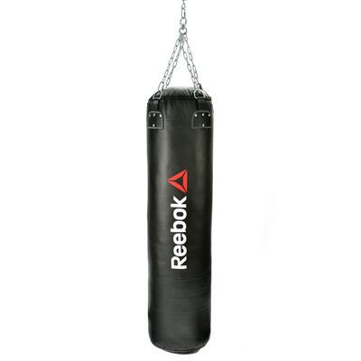 Reebok Combat 4ft Leather Punch Bag