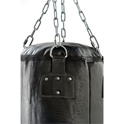 Reebok Combat 5ft Heavy Leather Punch Bag-Close View