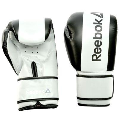 Reebok Combat Boxing Gloves-Black-14oz